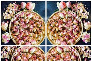 Cách làm hoa hồng khô từ hoa tươi để pha trà vẫn giữ nguyên màu sắc