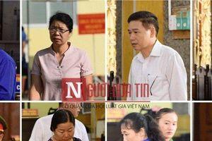 Gian lận điểm thi ở Sơn La: Cận cảnh 8 bị cáo hầu tòa sáng nay