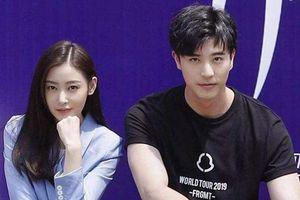 'Thái tử phi' Trương Thiên Ái bị nghi ngờ 'phim giả tình thật' cùng bạn diễn Từ Khai Sính