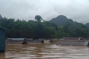 Nhà phao bảo vệ an toàn 400 hộ dân vùng lũ dữ Quảng Bình