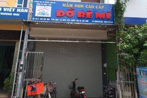 Đình chỉ cơ sở mầm non bỏ quên bé 3 tuổi trên xe đưa đón tại Bắc Ninh