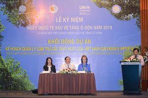 Việt Nam nỗ lực bảo vệ tầng ô-dôn