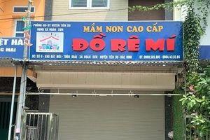 Bé 3 tuổi bỏ quên trên xe đưa đón ở Bắc Ninh: Đình chỉ cơ sở mầm non Đồ Rê Mí