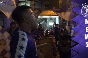 Hàng Đẫy bị treo sân, CĐV Hà Nội FC vẫn có cách tiếp lửa cho đội bóng