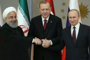 Thượng đỉnh Nga- Iran-Thổ Nhĩ Kỳ tìm kiếm hòa bình toàn diện cho Syria