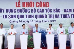 Thủ tướng phát lệnh khởi công Dự án xây dựng đường cao tốc Bắc- Nam phía Đông