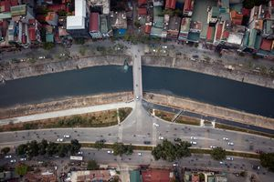 Hà Nội đề xuất chi 36 tỷ xây 3 cầu vượt sông Tô Lịch