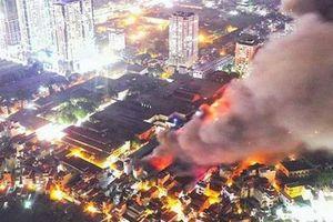 Cháy công ty Rạng Đông: Không có yếu tố phá hoại