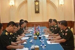 Bộ Quốc phòng Việt Nam và Lào chia sẻ kinh nghiệm về công tác văn thư, lưu trữ