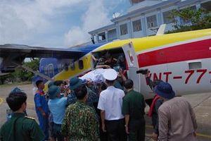 Điều máy bay cấp cứu quân nhân ở Trường Sa