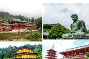 15 ngôi chùa có khung cảnh tuyệt đẹp ở Nhật Bản