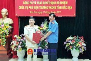VKSND tỉnh Bắc Kạn có Phó Viện trưởng mới