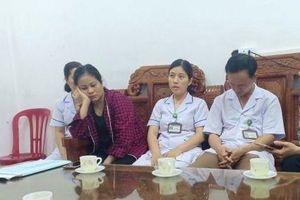 BVĐK huyện Đức Thọ kỷ luật ê - kíp đỡ đẻ vụ trẻ sơ sinh tử vong với vết đứt dài trên cổ