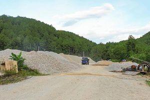 39 mỏ đất đá Hà Tĩnh trốn lắp trạm cân