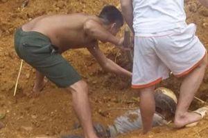 Người đàn ông thoát chết thần kỳ sau khi bị đất chôn vùi
