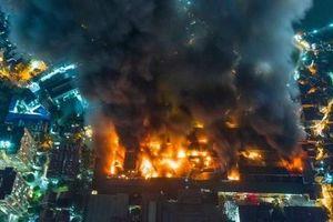 Hà Nội công bố nguyên nhân cháy kho công ty Rạng Đông