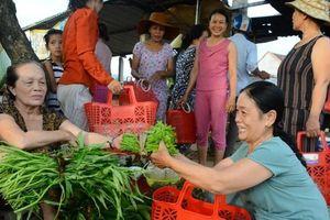 Quảng Ngãi: Phụ nữ Nghĩa Hành tích cực hưởng ứng 'Giỏ nhựa đi chợ'