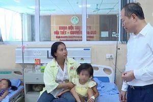 80 trẻ mầm non nhập viện nghi do ngộ độc thực phẩm ở Phú Thọ