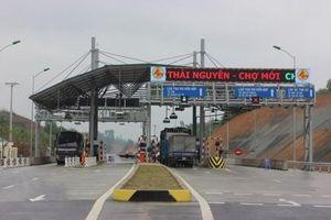 BOT Thái Nguyên - Chợ Mới thu phí trở lại trạm Quốc lộ 3