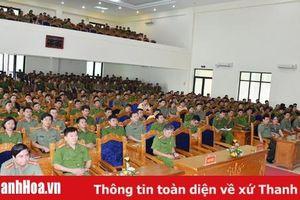 Công an Thanh Hóa: Bồi dưỡng cho 400 cán bộ công an chính quy đảm nhiệm chức danh công an xã, thị trấn năm 2019