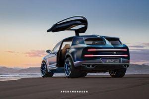 Sau khi bán hết sạch Chiron Super Sport 300+, Bugatti rục rịch phát triển siêu SUV