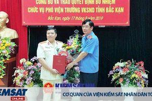 Chánh Văn phòng VKSND tỉnh Bắc Kạn nhận nhiệm vụ mới