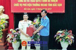 Bổ nhiệm Phó Viện trưởng VKSND tỉnh Bắc Kạn