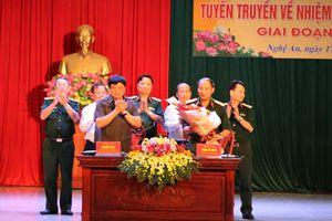 Quân khu 4 và Đài Tiếng nói Việt Nam phối hợp tuyên truyền quốc phòng