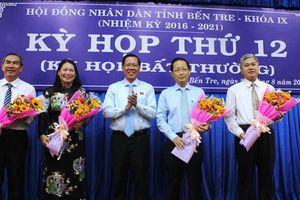Thủ tướng phê chuẩn 2 Phó Chủ tịch tỉnh Bến Tre