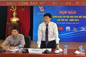 Gần 200 tay vợt tranh tài tại Giải Bóng bàn Cúp Hội Nhà báo Việt Nam