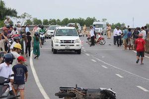 Hai vụ tai nạn xảy ra cùng một giờ khiến 2 người chết, 1 người bị thương