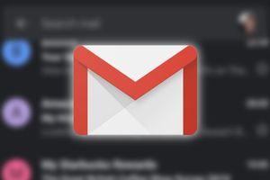 Gmail trên Android 10 đã hỗ trợ Dark Mode