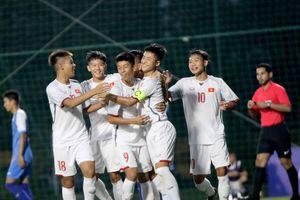 U.16 Việt Nam thắng '7 sao' Mông Cổ tiếp tục dẫn đầu bảng H