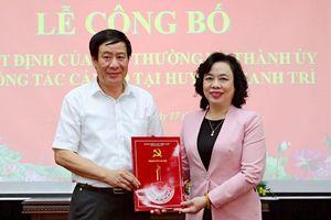 Ông Lê Tiến Nhật làm Bí thư Huyện ủy Thanh Trì
