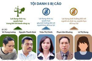 Xét xử vụ án gian lận điểm thi tại Hà Giang