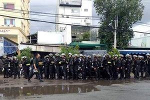 Cảnh sát phong tỏa, khám xét trụ sở Công ty Địa ốc Alibaba