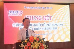 Thừa Thiên Huế: 15 dự án, ý tưởng tại vòng chung kết khởi nghiệp đổi mới sáng tạo năm 2019
