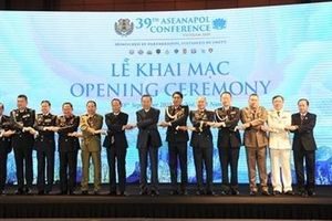 Những hình ảnh ấn tượng Phiên khai mạc Hội nghị ASEANAPOL lần thứ 39