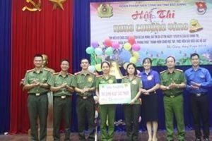 Công an tỉnh Bắc Giang: Sôi nổi hội thi 'Rung chuông vàng'