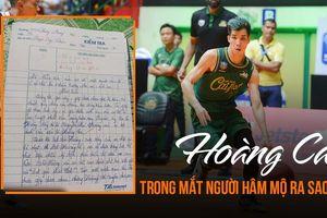 Bài văn cảm động của một fan nữ và ước mơ được một lần xem tận mắt thần tượng Hoàng 'Ca' thi đấu
