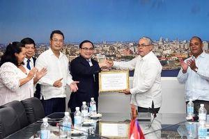Đoàn đại biểu cấp cao thành phố Hà Nội thăm, làm việc tại Cuba và Pháp