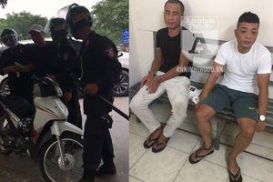 Thủ vam phá khóa, hai tên trộm 'ung dung' ra phố, 'đụng' ngay Cảnh sát cơ động