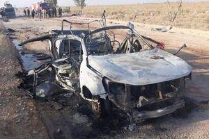 Căn cứ quân sự gần biên giới Syria - Iraq bị không kích