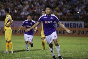 Vất vả đánh bại SLNA, Hà Nội FC vô địch V-League sớm 2 vòng đấu