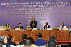 Thủ tướng Nguyễn Xuân Phúc dự Diễn đàn Cải cách và Phát triển Việt Nam 2019