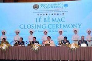 Hội nghị Tư lệnh Cảnh sát các nước ASEAN lần thứ 39 thành công tốt đẹp