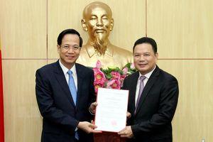 Ông Lê Văn Thanh nhận chức Thứ trưởng Bộ LĐ-TB&XH