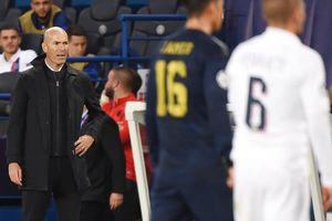 HLV Zidane nổi giận sau thảm bại tại Paris SG