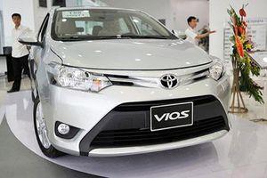 Triệu hồi Toyota Vios tại Việt Nam dính lỗi cụm bơm túi khí