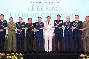 Bế mạc Hội nghị Tư lệnh Cảnh sát các nước ASEAN lần thứ 39